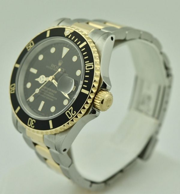 FullSizeRender 101 600x649 - Rolex Submariner Stainless Steel & 18k Gold