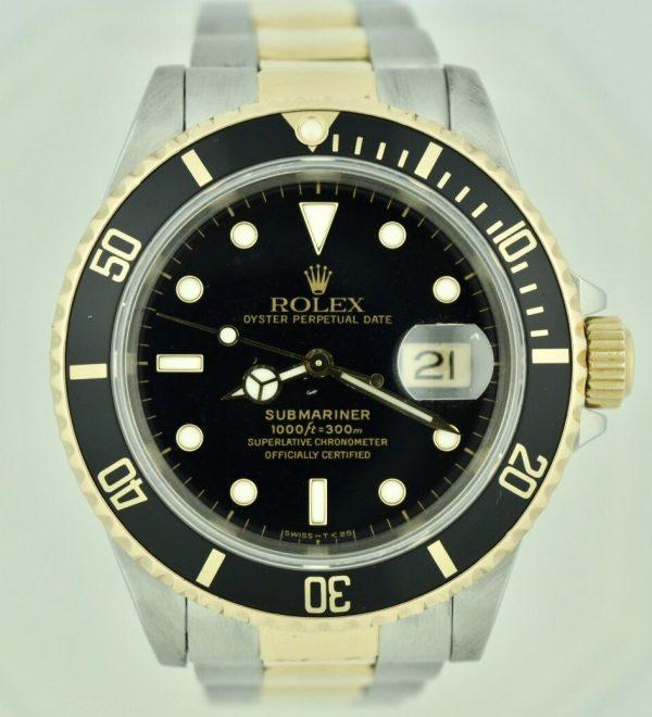 FullSizeRender 103 600x660 - Rolex Submariner Stainless Steel & 18k Gold