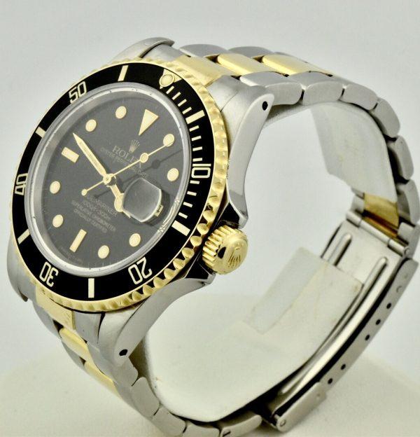 FullSizeRender 107 600x624 - Rolex Submariner Stainless Steel & 18k Gold
