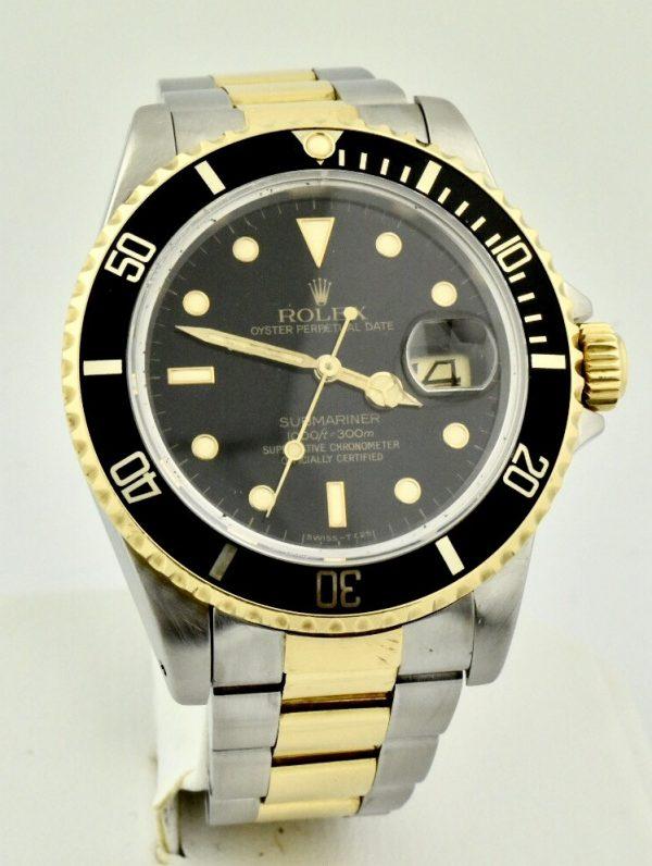 FullSizeRender 108 600x796 - Rolex Submariner Stainless Steel & 18k Gold