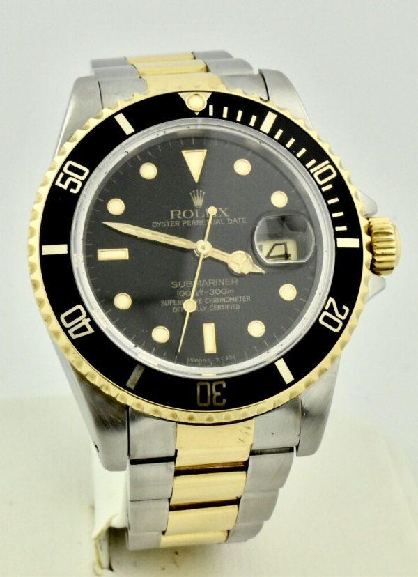 FullSizeRender 110 600x828 - Rolex Submariner Stainless Steel & 18k Gold