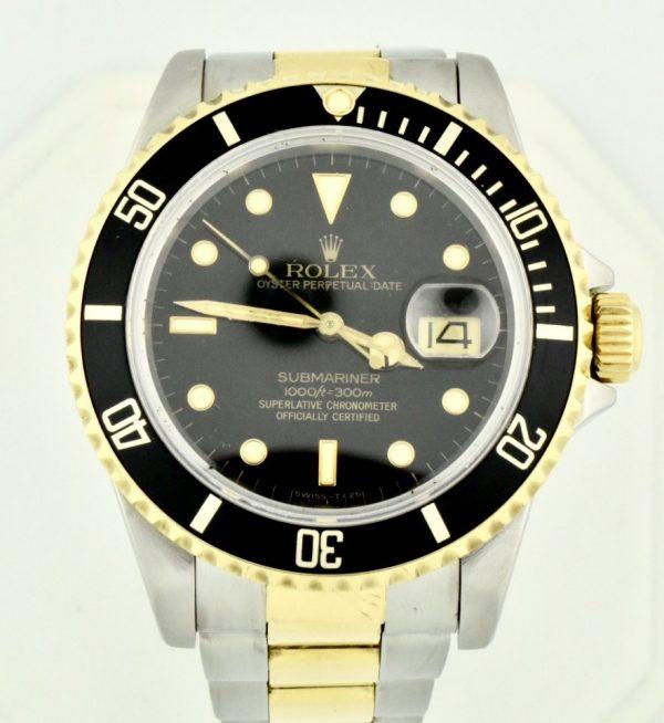 FullSizeRender 111 600x654 - Rolex Submariner Stainless Steel & 18k Gold