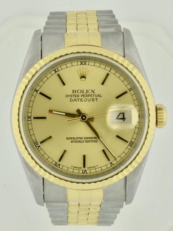IMG 6692 600x802 - Rolex Datejust 36mm