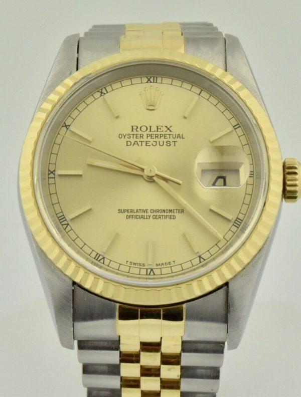 IMG 6695 600x792 - Rolex Datejust 36mm