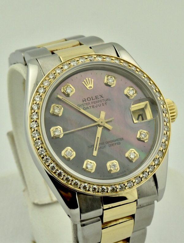 IMG 7085 2 600x794 - Rolex Datejust Midsize