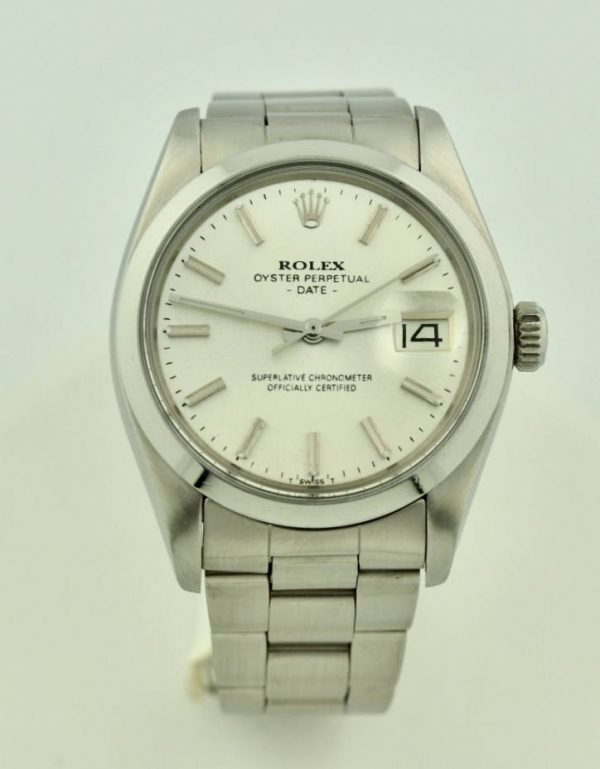 IMG 7366 600x769 - Rolex Oyster Date
