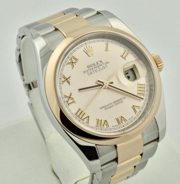 IMG 7987 600x613 - Rolex Datejust 36mm