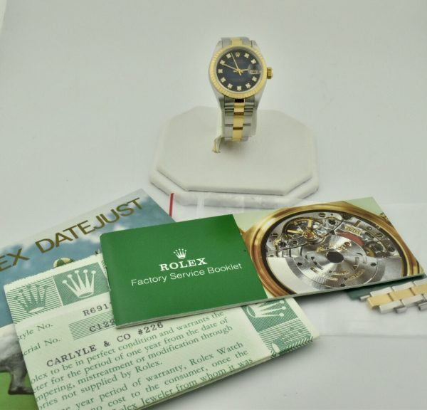 IMG 8024 600x576 - Rolex Datejust 26mm
