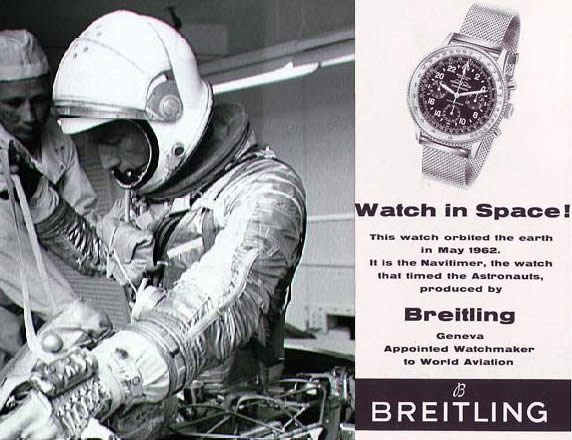 breitling watch space - Breitling