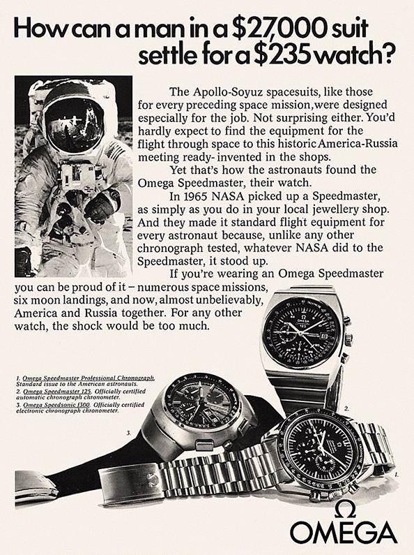 omega speedmaster ad - OMEGA