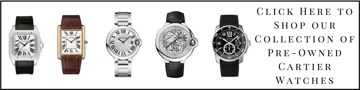 shop cartier watches - Cartier Watches