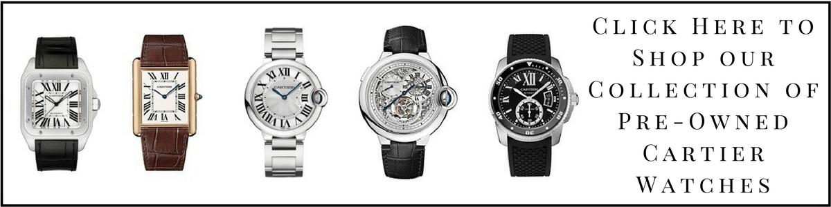 shop cartier watches - Cartier Watches