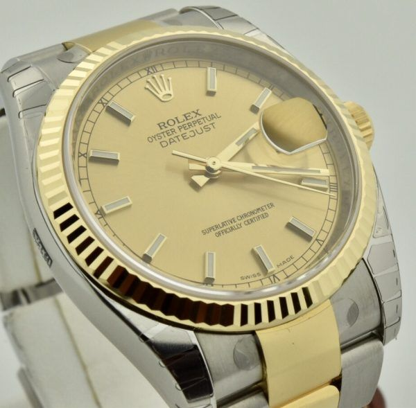 IMG 8349 600x589 - Rolex Datejust 36mm