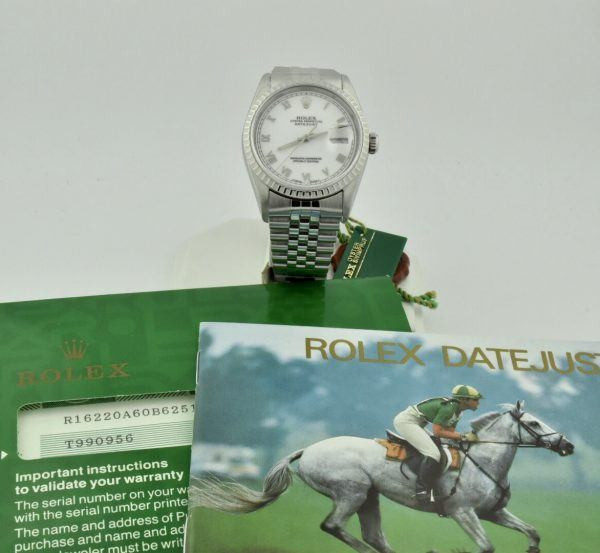 IMG 8501 600x553 - Rolex Datejust 36mm