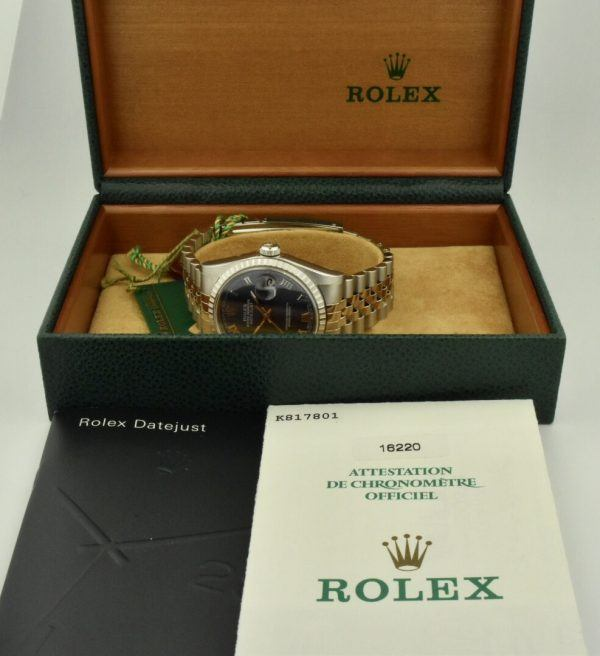 IMG 8542 600x656 - Rolex Datejust 36mm