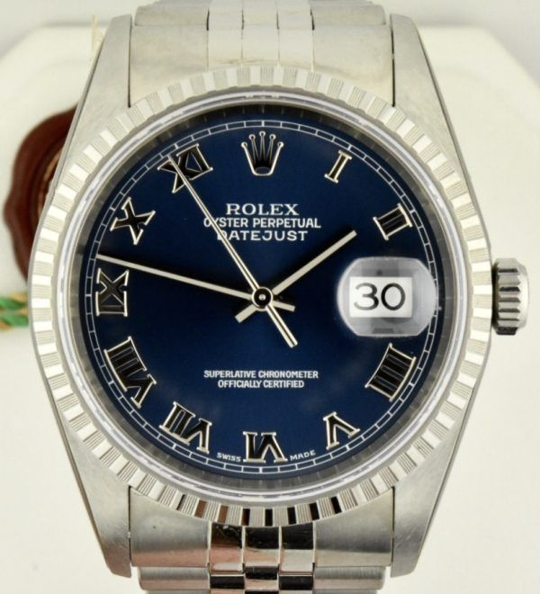 IMG 8545 600x660 - Rolex Datejust 36mm