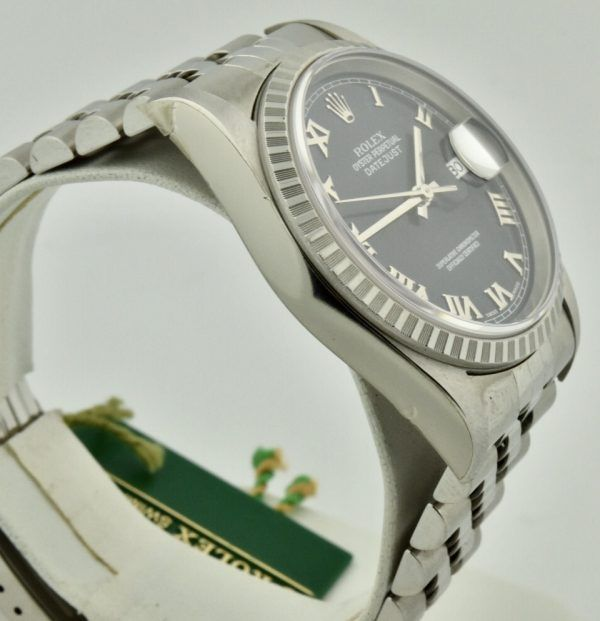 IMG 8553 600x621 - Rolex Datejust 36mm