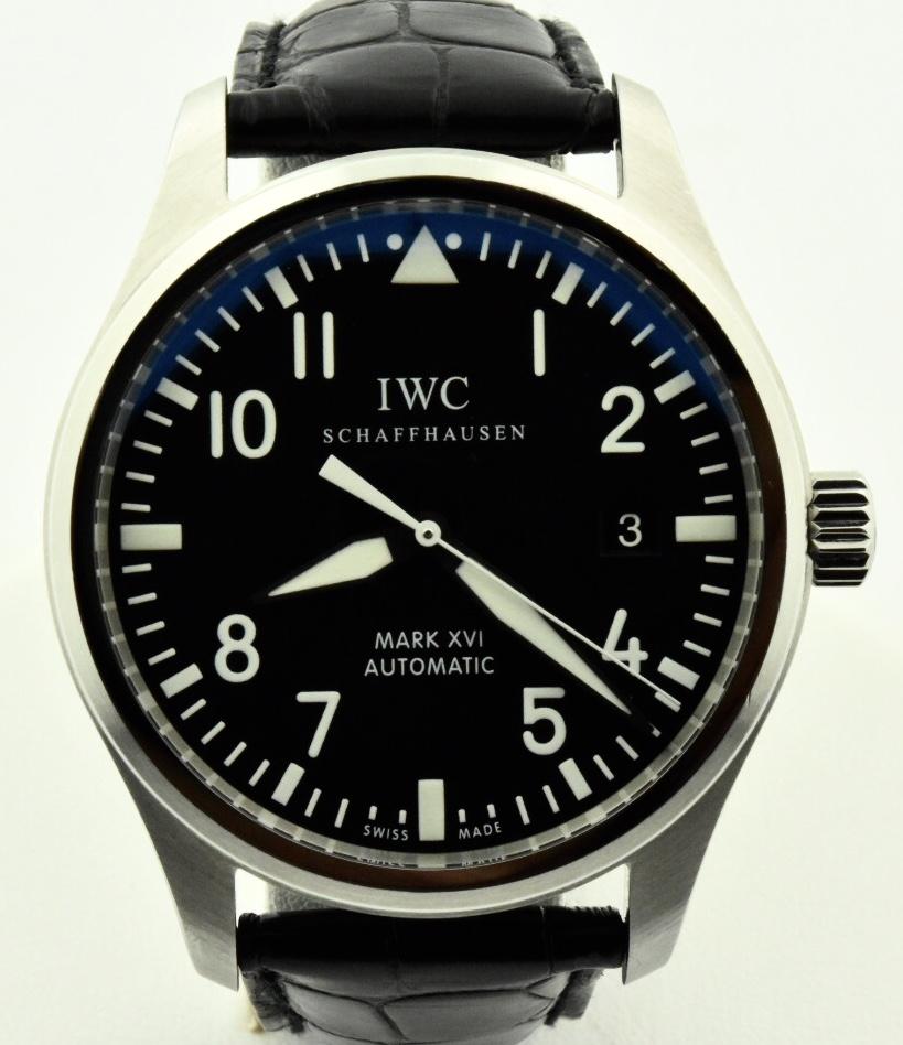 3b9db8cdf997 Men s IWC Mark XVI 3255 Stainless Steel Automatic Watch