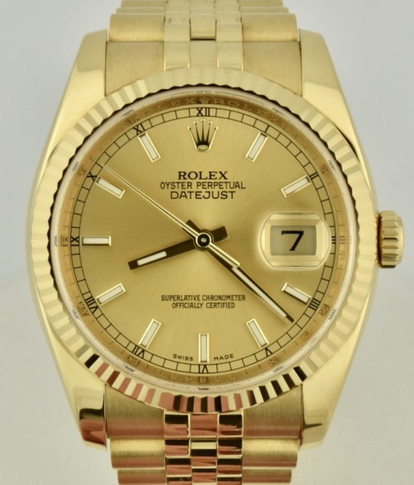 IMG 8581 600x702 - Rolex Datejust 36mm