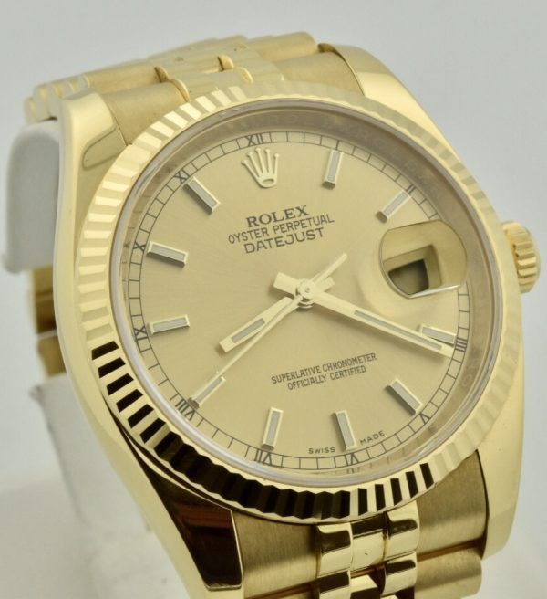 IMG 8585 600x656 - Rolex Datejust 36mm