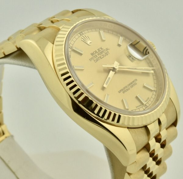 IMG 8587 600x588 - Rolex Datejust 36mm