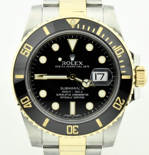 IMG 8686 600x628 - Rolex Submariner