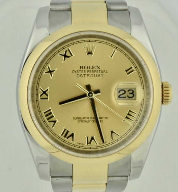 IMG 8806 600x644 - Rolex Datejust 36mm