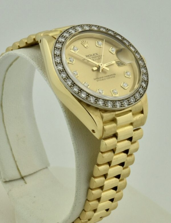IMG 8819 2 600x780 - Ladies Rolex President 26mm