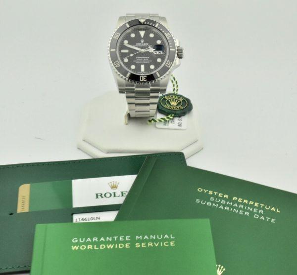 IMG 8856 600x557 - Rolex Submariner Date