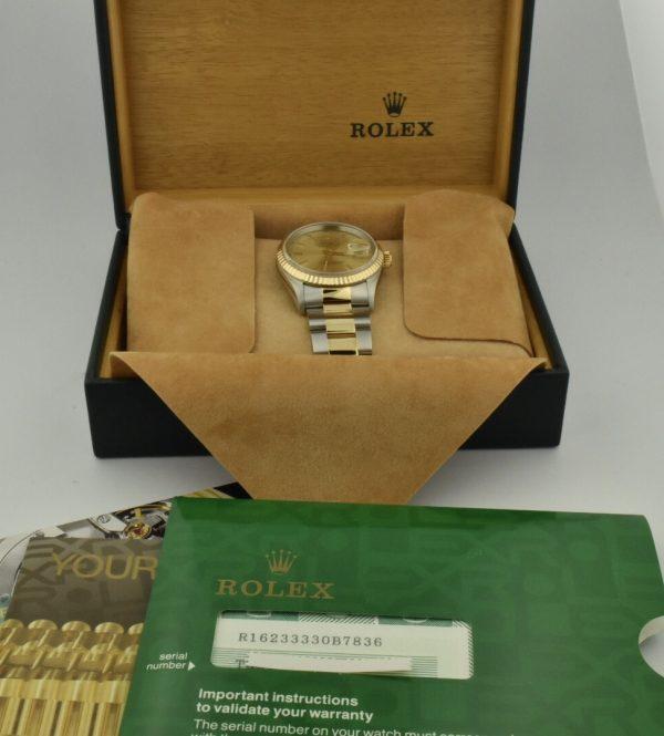 IMG 8943 600x665 - Rolex Datejust 36mm