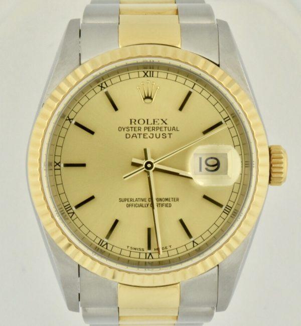 IMG 8946 600x651 - Rolex Datejust 36mm