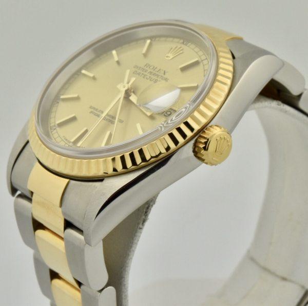 IMG 8949 600x598 - Rolex Datejust 36mm