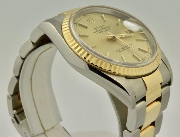 IMG 8950 600x459 - Rolex Datejust 36mm