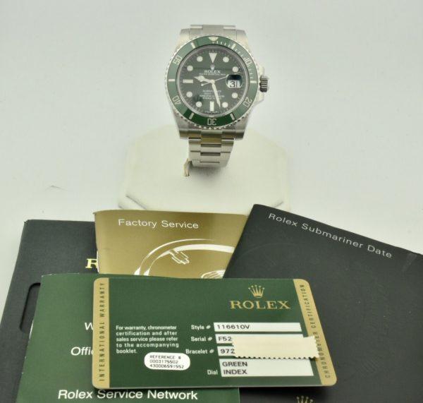 """IMG 8987 600x571 - Rolex Submariner Date """"Hulk"""""""