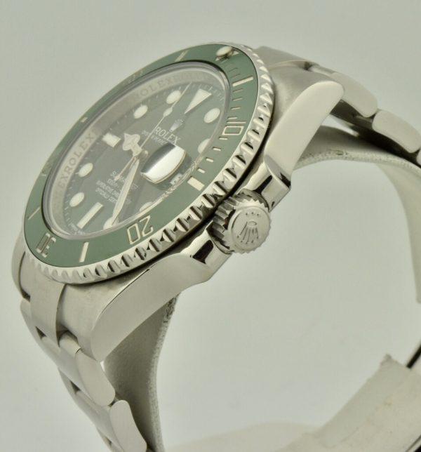 """IMG 8992 600x644 - Rolex Submariner Date """"Hulk"""""""