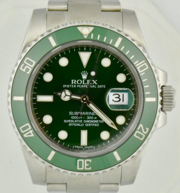 """IMG 8996 600x644 - Rolex Submariner Date """"Hulk"""""""