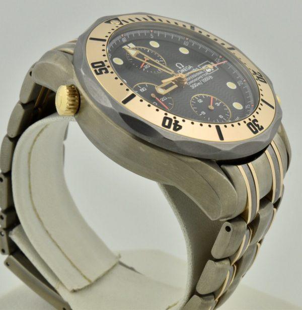IMG 9039 600x616 - OMEGA Seamaster Chronograph