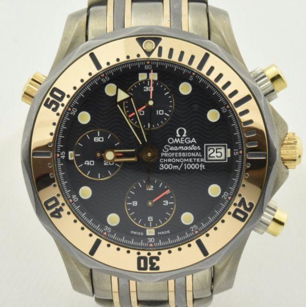 IMG 9042 600x602 - OMEGA Seamaster Chronograph