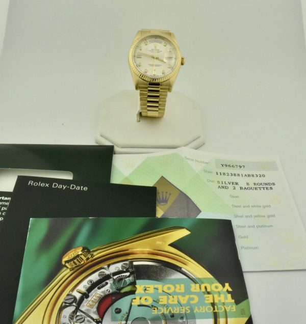 IMG 9147 600x636 - Rolex President Day-Date 36mm