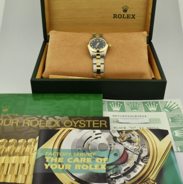IMG 9165 600x604 - Rolex Oyster Perpetual 26mm