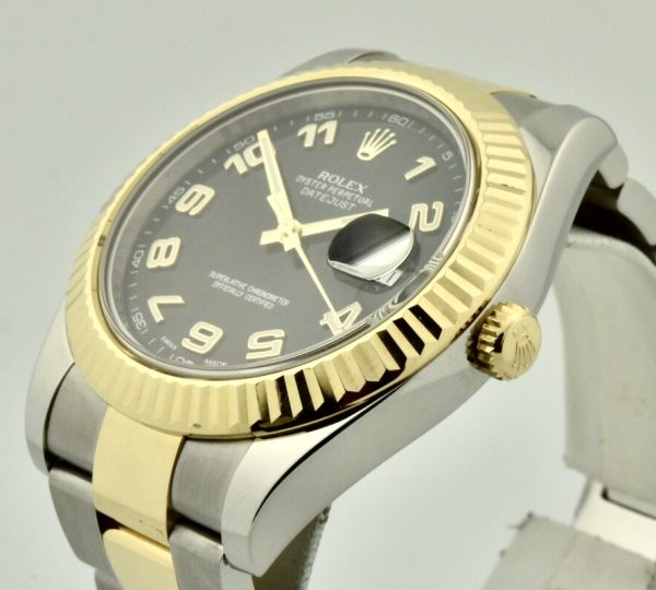 rolex datejust II side