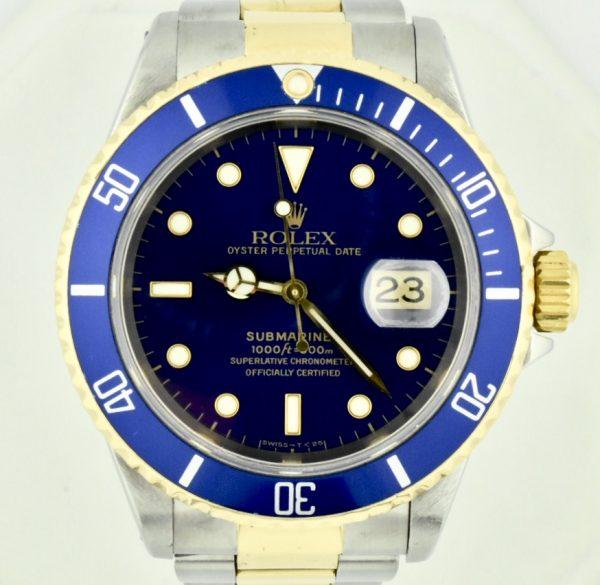 IMG 9622 600x585 - Rolex Submariner Date
