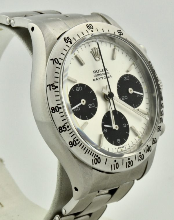 rolex 6239 daytona side front
