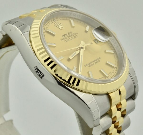 IMG 0417 600x566 - Rolex Datejust 36mm