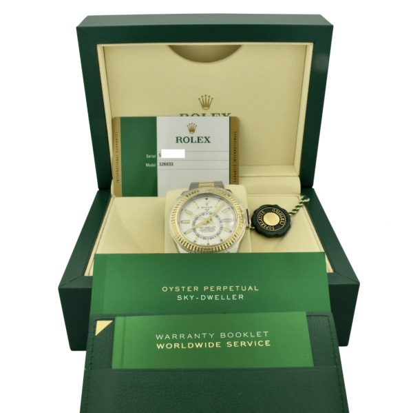rolex skydweller 326933 white dial for sale