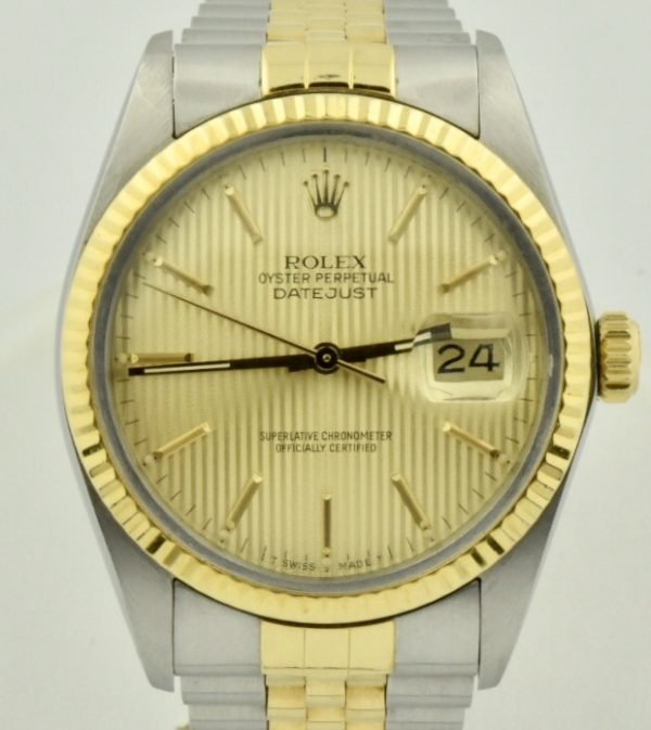 IMG 0625 600x673 - Rolex Datejust 36mm