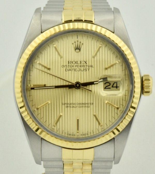 IMG 0625 600x673 - Rolex Datejust 36mm