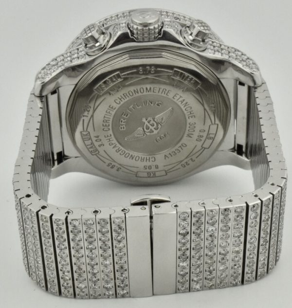 Breitling super avenger diamond band