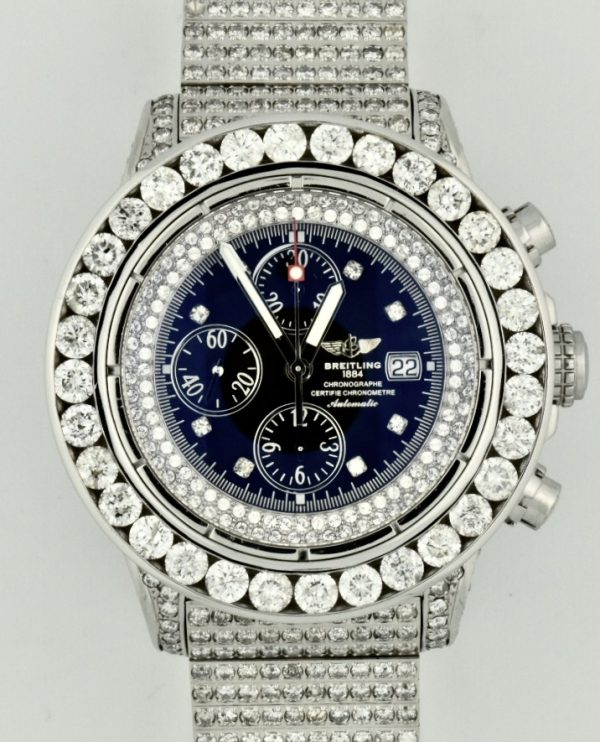Breitling Super Avenger Diamond Watch