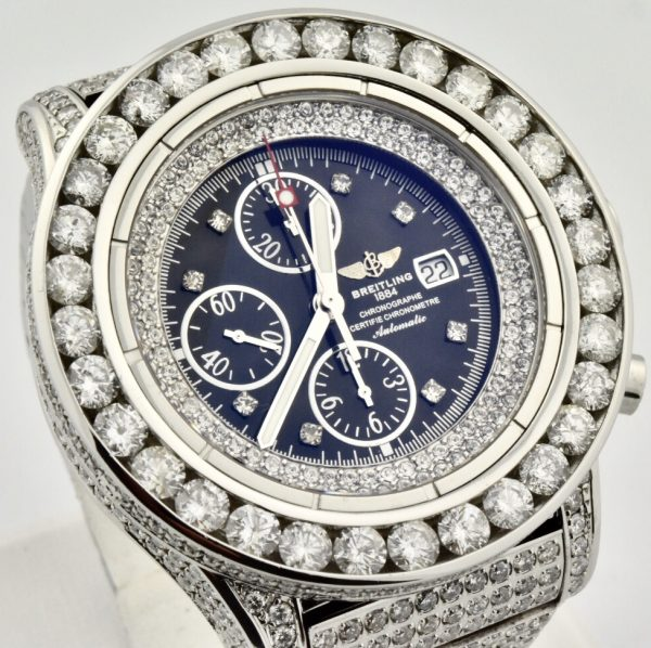 Breitling A13370 diamond